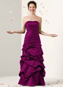 Sangria colored Bridesmaid Dress...color for an October wedding?? :)