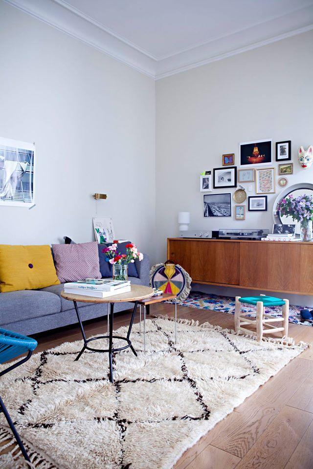 17 meilleures images propos de tapis berb re sur pinterest inspiration salons et tapis berb re. Black Bedroom Furniture Sets. Home Design Ideas