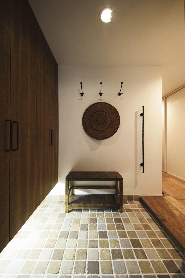 リフォーム・リノベーションの事例|玄関|施工事例No.496無垢材や珪藻土。ほんもの素材はパパとママからの贈り物|スタイル工房