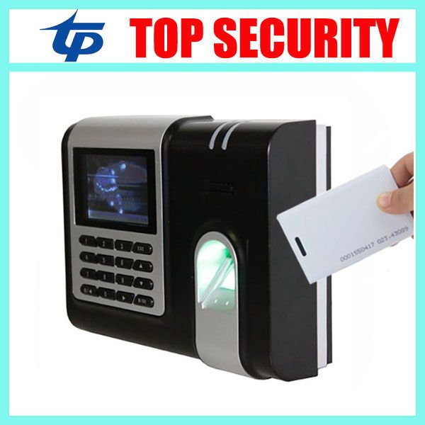 ZK X628 fingerprint and RFID card time attendance terminal TCP/IP USB RS232/485 3 inch color screen biometric time attendance