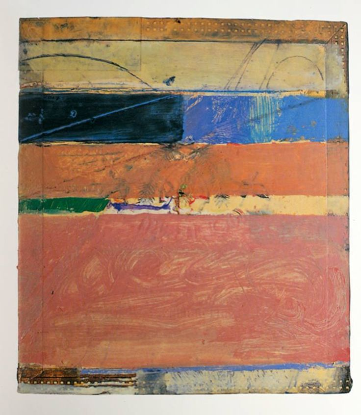 """ions-in-the-ether: """" Richard Diebenkorn, Cigar Box Lid No 8, 1979 """""""