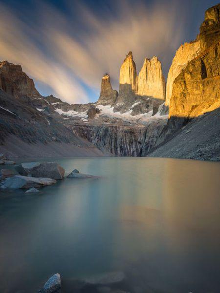 【MEN'S CLUB】トーレス・デル・パイネ国立公園(チリ)