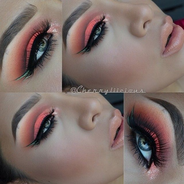 Hooded eyes. It's amazing what makeup can do to create an effect that isn't there. :-) love it