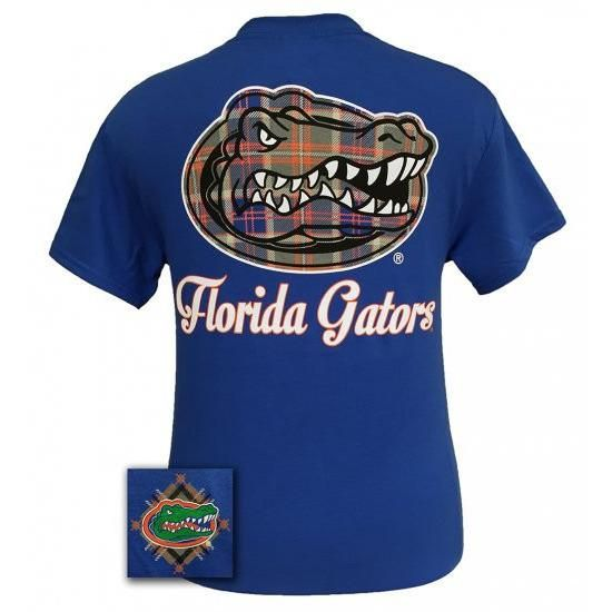 Florida Gators Plaid Logo T-Shirt
