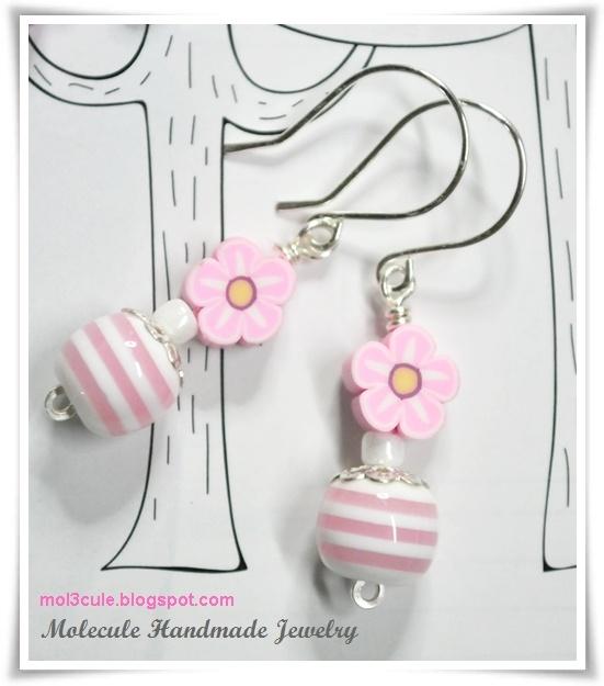 Lampwork Ohrringe von Molecule Handmade Jewelry