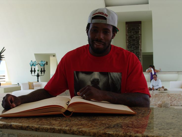 New York Jets Cornerback, Antonio Cromartie was spotted at the Secrets Marquis Los Cabos while attending a wedding at the resort!  -http://visitloscabos.travel/ #Celebrity #Vacations #LosCabos