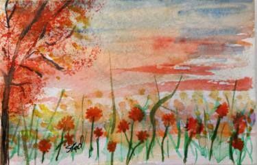 Poppies at Dawn