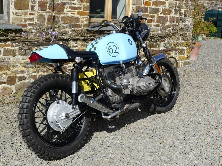 bmw r80 cafe racer tracker scrambler kevils style vonzeti seat and tank ebay bmw cafe. Black Bedroom Furniture Sets. Home Design Ideas