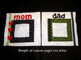 Family Quiet Book Idea