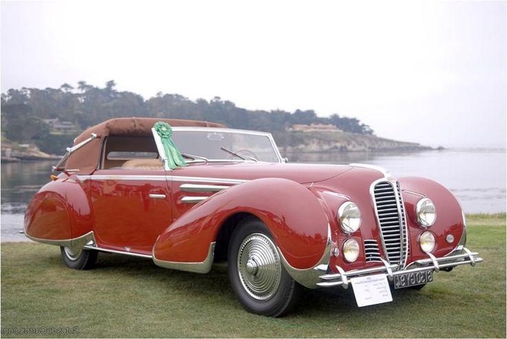 1948 Delahaye 135 M Head Coupe
