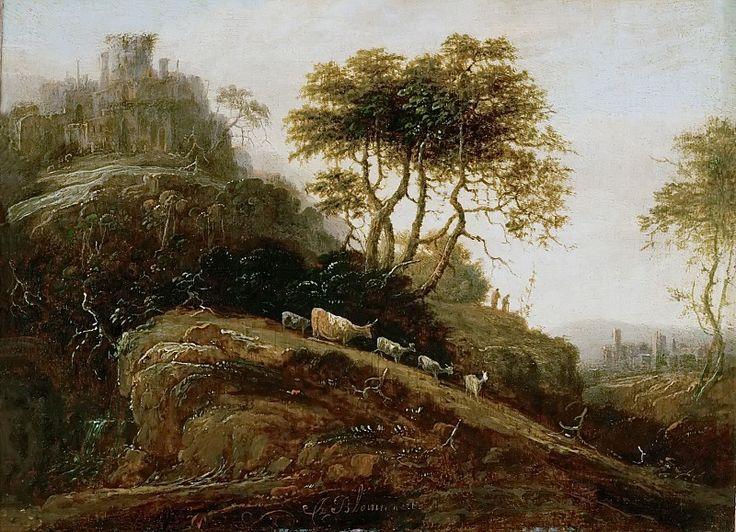 Адриан Блумарт - Горный пейзаж. Музей истории искусств. Описание картины, скачать репродукцию.