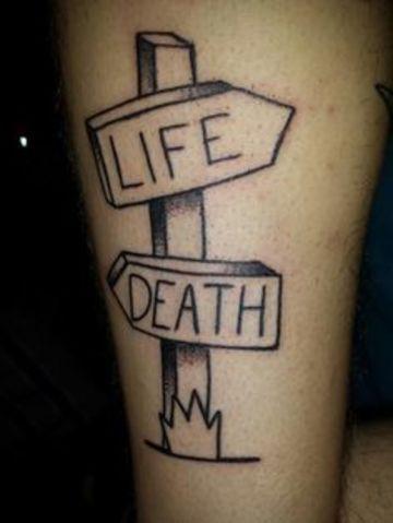Ideas En Ilustraciones Para Tatuajes De Vida Y Muerte Tatuajes En