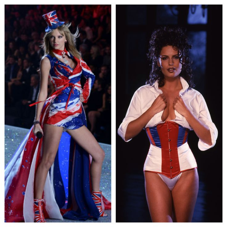 Get Taylor Swift's British look with this Union Jack inspired corset from Vollers. Email victoria@vollers-corsets.com to enquire.