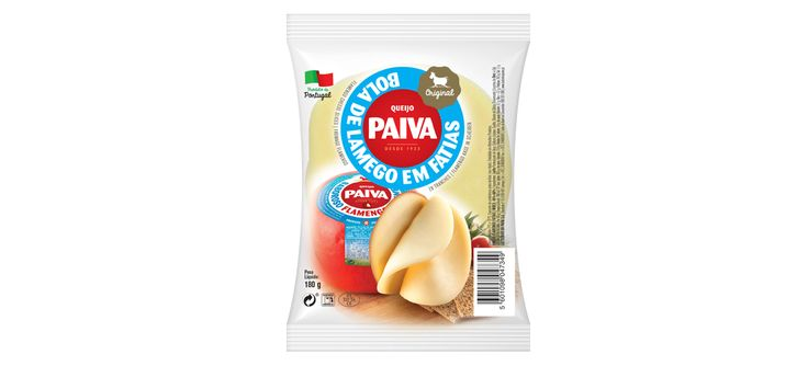 Gama queijo bola fatias Paiva #packaging #design #food #cheese #roound #slices