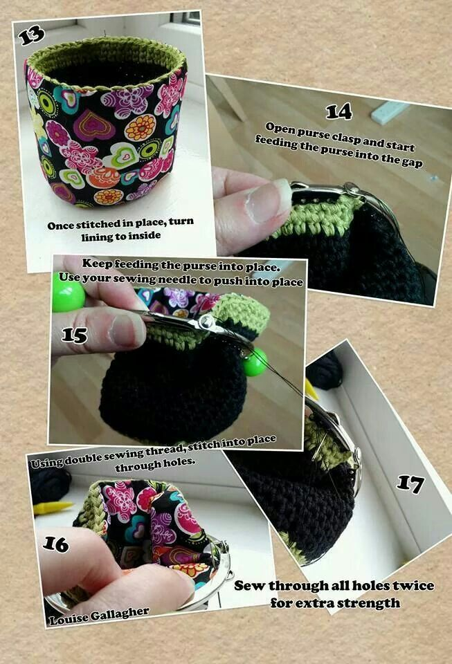 Crochet coin purse 3