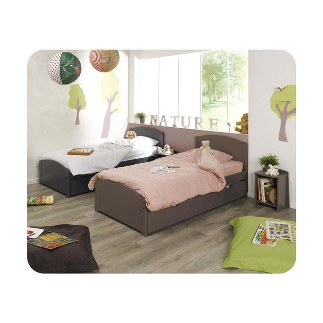 1000 id es sur le th me lit enfant 90x190 sur pinterest. Black Bedroom Furniture Sets. Home Design Ideas
