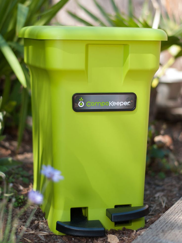 how to stop odors in my compost kitchen container