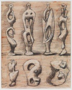 01-Henry-Moore,-Standing-Figures-and-Ideas-for-Sculpture,-circa-1948