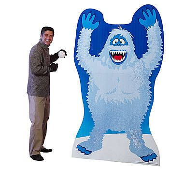 Our Rudolph Bumble Standee shows the classic character otherwise known as the Abominable Snow Monster. This freestanding cardboard prop measures 6 feet 4 inches high x 3 feet 10 inches wide and is printed on one side. The Rudolph Bumble Standee is the perfect addition to your winter or holiday party. $74.99 #Rudolph #ShineBright