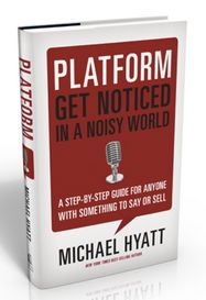 "My favorite social media book is Platform, by Michael Hyatt. Platform is a ""Step-By-Step Guide for Anyone With Something to Say or Sell"" (t..."