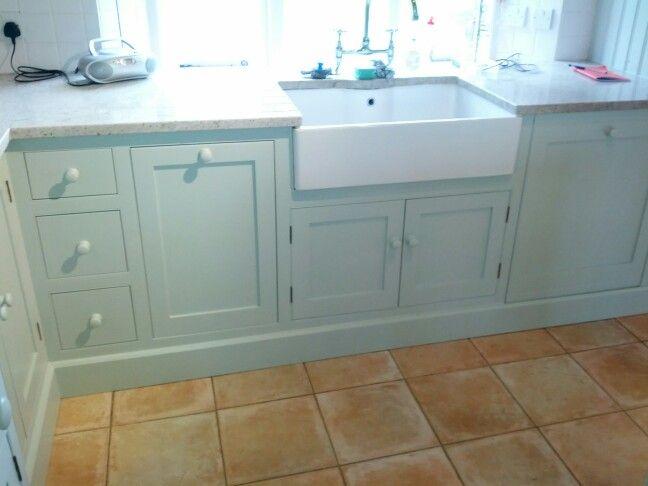 Best Mizzle Estate Eggshell Units Farm Kitchen Decor Farrow 400 x 300