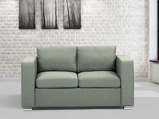 Olivgreen couch for 2 people - more sizes on www.beliani.ch https://www.beliani.ch/wohnzimmer-moebel/stoffsofa/sofa-olivgrun-2-sitzer-couch-soffsofa-helsinki.html