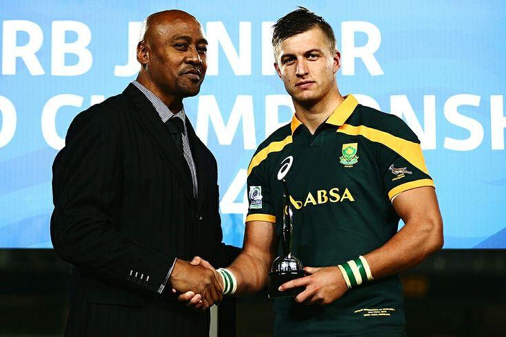 Handre Pollard South Africa - Jonah Lomu NZ Rugby
