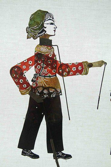 Chinese Shadow Puppetry