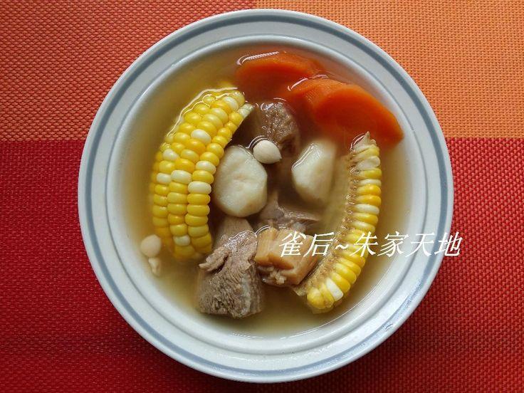 清潤湯水-無花果粟米甘筍馬蹄湯 | Recipe in 2020 | Recipes, Soup recipes, Food