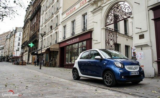 Cars - Smart Forfour : la famille s'agrandit ! - http://lesvoitures.fr/smart-for-four/