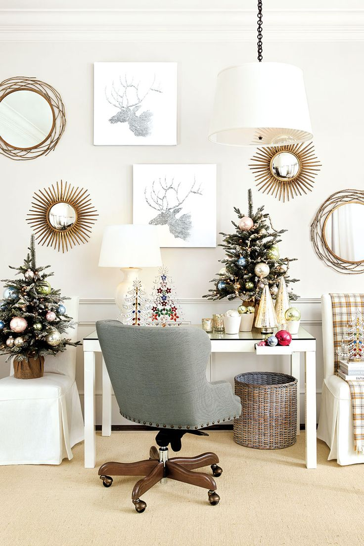 Add Festive Cheer To Every Room In Your House With Mini Christmas Trees