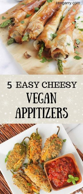 5 Easy Vegan Appetizers