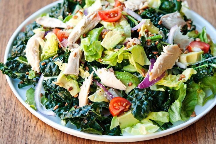 Kale Caesar Salad just like the one from Mendocino Farms