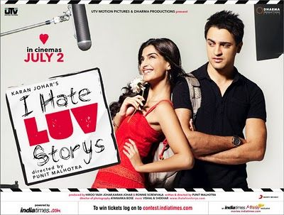 I Hate Love Stories :P this movie is soooooooo ironic :p but funny :P