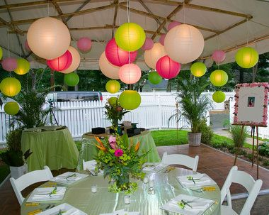 Ideas For A Backyard Party magical fairy party 10 kids backyard party ideas tinyme blog Wedding Ceremony Backyard Tented Weddings Paper Lanterns