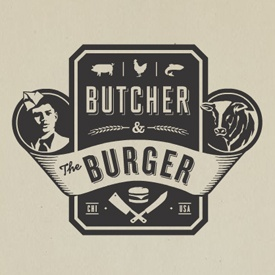 butcher & the burger logo