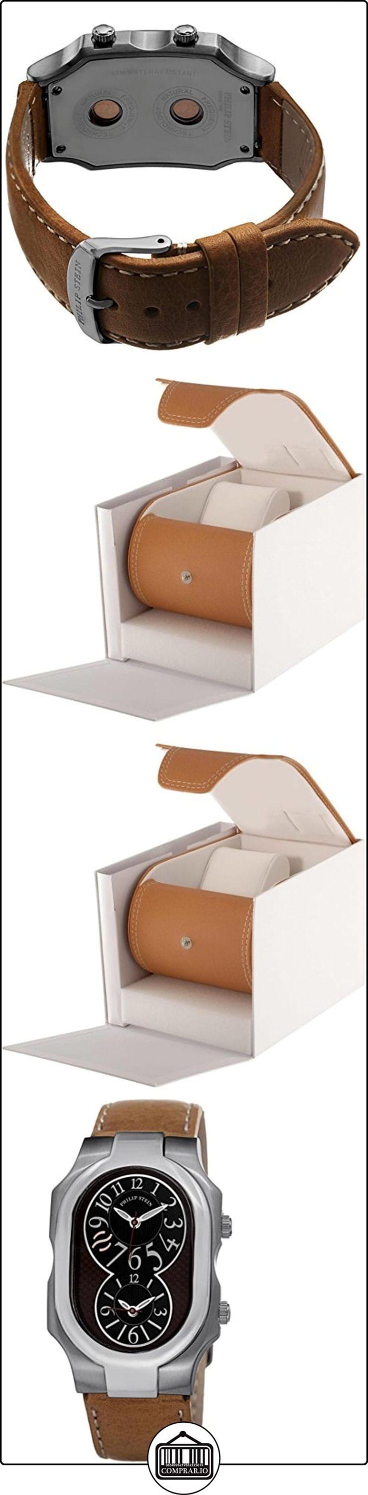 Philip Stein Women's 32mm Brown Calfskin Stainless Steel Case Watch 2BRNCSTC  ✿ Relojes para mujer - (Lujo) ✿