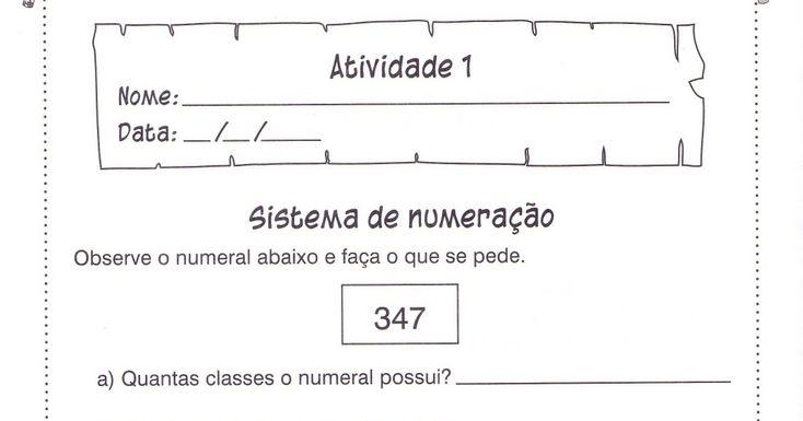 Fichas De Trabalho-Matemática 4º Ano