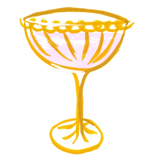champagne glass | illustrations 'n things