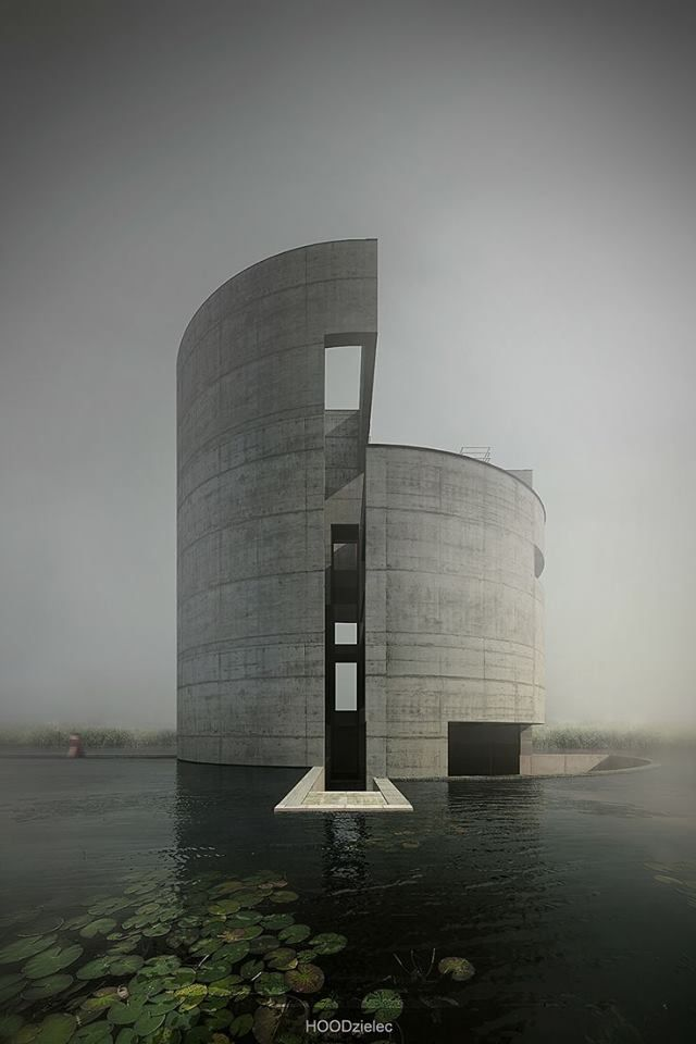 House no. 25 Project - Architect; Tadao Ando. When i become a Wizard. This will be my home.