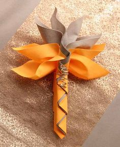 napkin folds for new years eve - Google Search