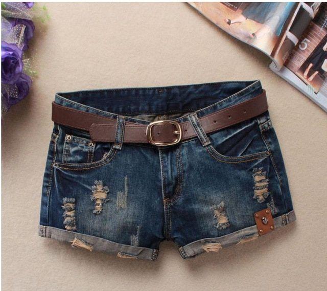 Denim Shorts For Women Sexy Mini Shorts