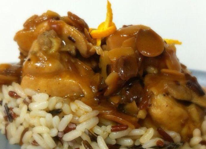 Pollo con Almendras. Estilo oriental. para #Mycook http://www.mycook.es/receta/pollo-con-almendras-estilo-oriental