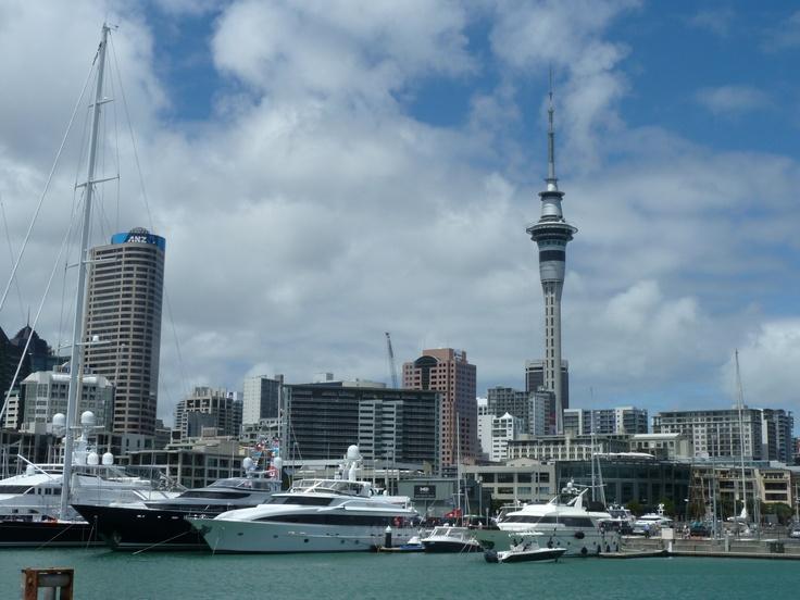City of Sails... Auckland Seafood Fest 2012
