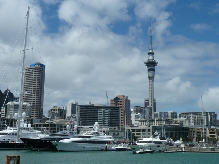 City of Sails... Auckland Seafood Fest 2012