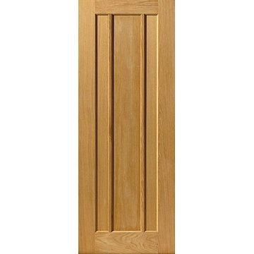 Image of JBK River Oak Eden 3 Panel Door