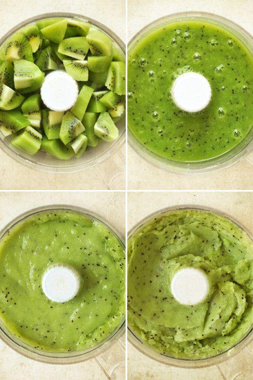 Sorbet kiwi recette facile