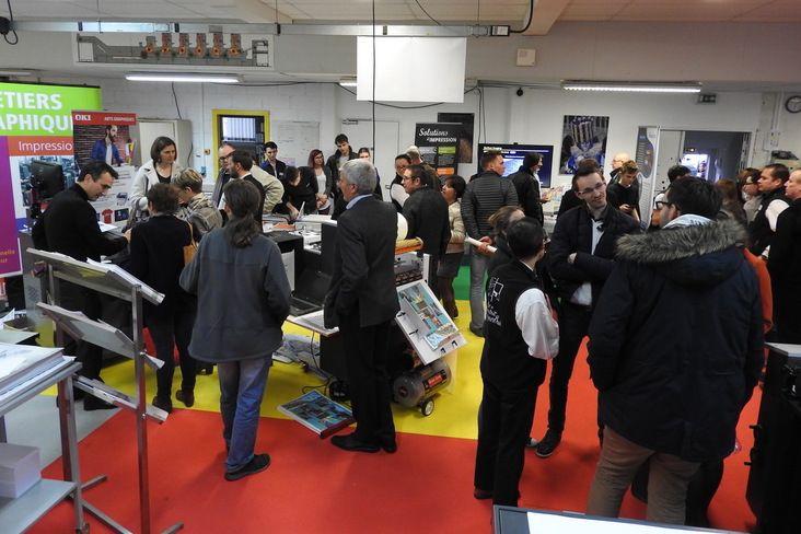 Portes ouvertes réussies pour la filière graphique du Lycée Léonard-de-Vinci (53)