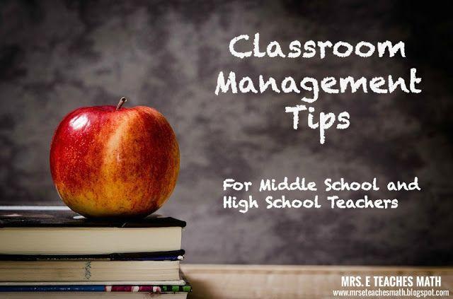Classroom Management Ideas Middle School ~ Best classroom management images on pinterest high