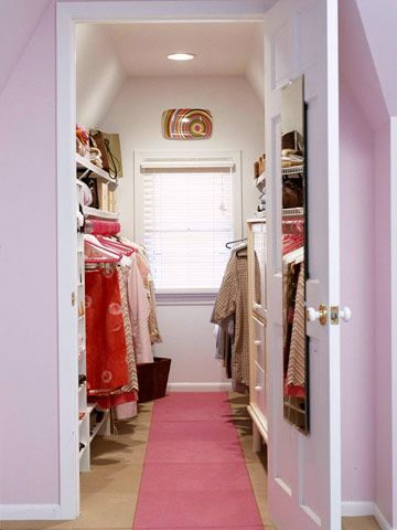 "a good idea for ""her"" and ""him"" walking closet.. separate so we have our own private area..."